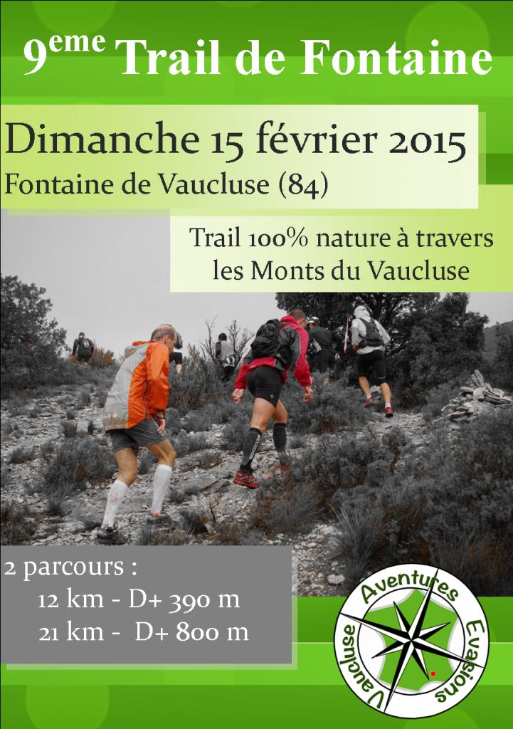Bulletin Trail de Fontaine 2015